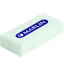 Marlin Tender erasers 45x20x10mm individually wrapped