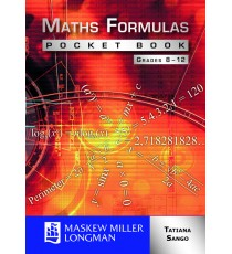 Maths Formulas Pocket Book Grades 8 - 12