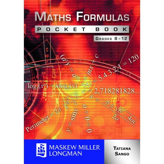Maths Formulas Pocket Book Grades 8 - 12