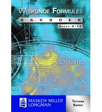 Wiskunde Formules Sakboek Graad 8 - 12