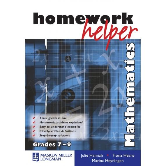 Mathematics Homework Helper Grade 7-9