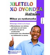 Mibya ya nyekanyeka Study Guide (Xitsonga)