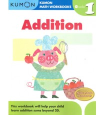 KUMON Math Workbooks Grade 1:Addition