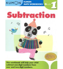 KUMON Math Workbooks Grade 1:Subtraction