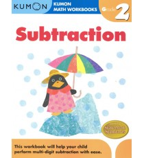 KUMON Math Workbooks Grade 2:Subtraction