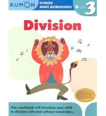 KUMON Math Workbooks Grade 3:Division