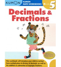 KUMON Math Workbooks Grade 5:Decimals & Fraction