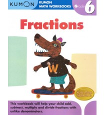 KUMON Math Workbooks Grade 6:Fractions