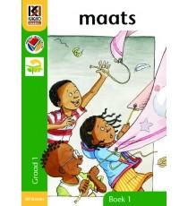 Kagiso Readers, Graad R/1, Boek 1: maats