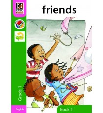 Kagiso Readers, Grade R/1, Book 1: friends