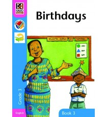 Kagiso Readers, Grade 3, Book 3: birthdays