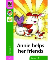 Kagiso Readers, Grade 1, Book 14: Annie helps her friends