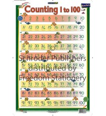 Marlin Kids Chart : Counting 1 to 100