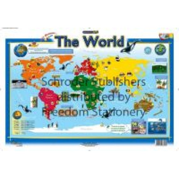 Marlin Kids Chart: The World