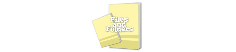 Files, Folders & Filing