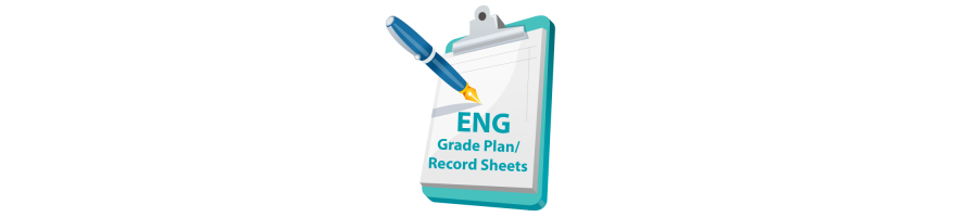 English Grade Plan / Record Sheet