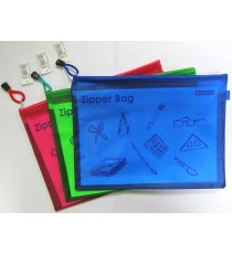 Marlin PVC Zipper Bag 32 x 23cm A4+