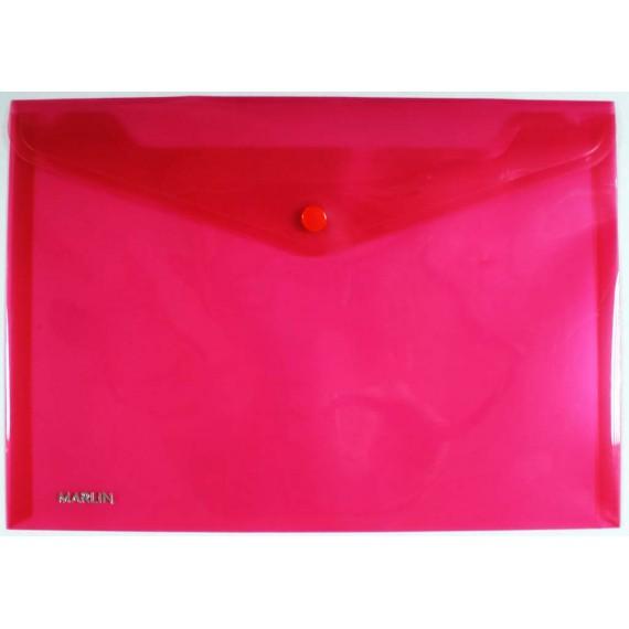 Marlin carry folders 5's Medium 240 x 170mm Assorted (Blue/Green/Purple/Red/Yellow)