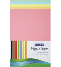 Marlin Project Boards A4 160gsm 50's Pastel assorted