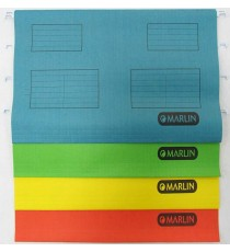Marlin Suspension Folders 25's Foolscap Green