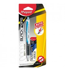Maped Black'Peps Clutch Pencil0.5 Auto Advance (Carded)