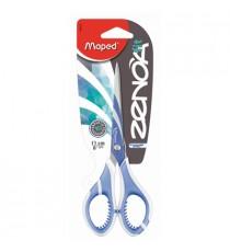 Maped Zenoa Fit Scissors 17cm Soft Grip Handle (Card)