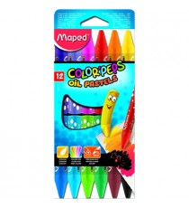 Maped Color'Peps Triangular Maxi Colouring Pencils 12's