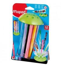 Maped Color'Peps Jungle Felt Tip Colouring Pens 12's