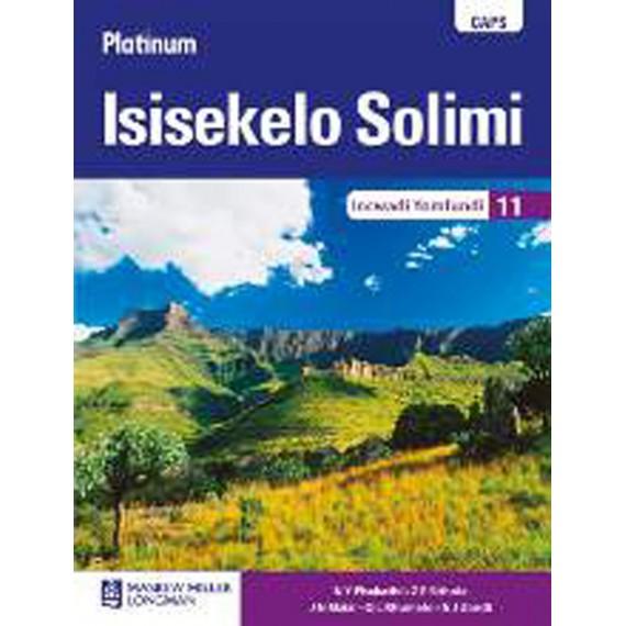 Platinum Isisekelo Solimi Ibanga 11 Learner's Book(CAPS)