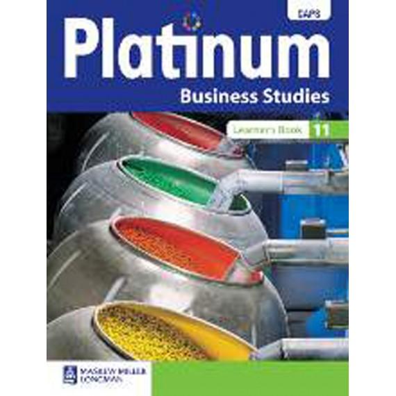 Platinum Business Studies Grade 11 Learner's Book (CAPS)
