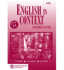 English in Context Grade 11 Teacher's Guide (CAPS)