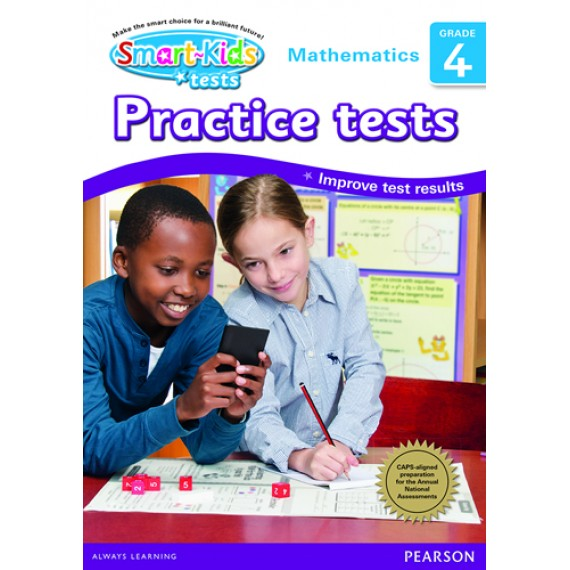 SMART-KIDS Practice Tests Maths GR 4