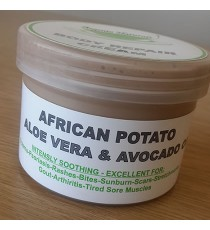 African Potato, Aloe Vera and Avocado oil cream 100ml