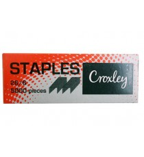 CROXLEY 26-6 STAPLES BOX 5000