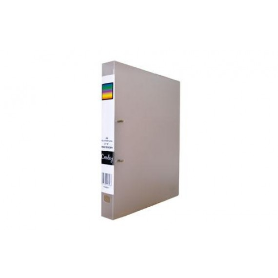 CROXLEY 2D PP RING BINDER CLEAR EACH