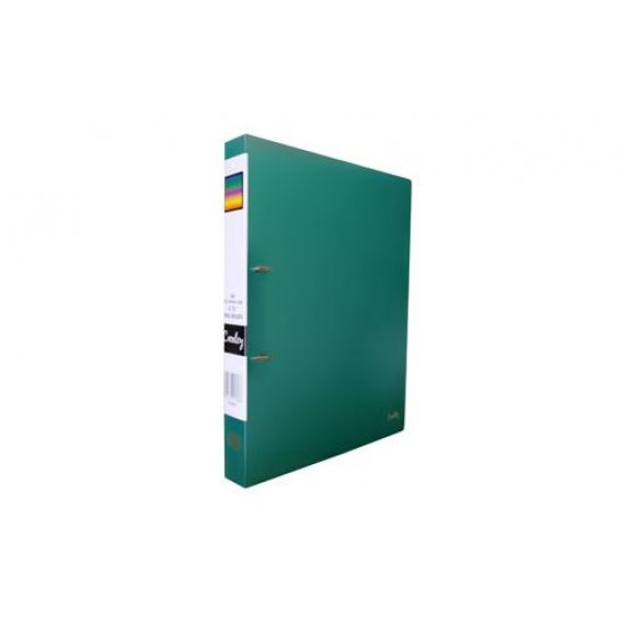 CROXLEY 2D PP RING BINDER GREEN EACH