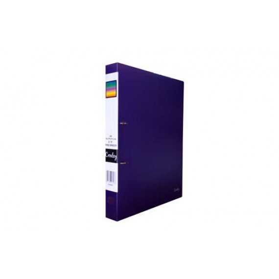 CROXLEY 2D PP RING BINDER PURPLE EACH