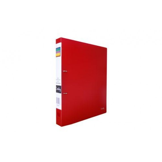 CROXLEY 2D PP RING BINDER RED EACH