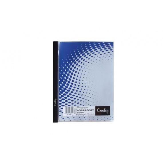 CROXLEY A4 ADD-A-POCKET FILE EACH