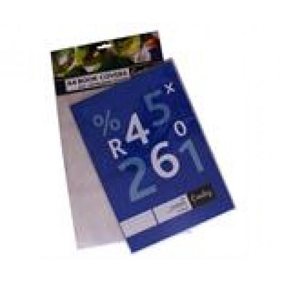 CROXLEY BOOK COVER A4 PVC 140 MICRON 5PK