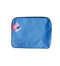 CROXLEY CANVAS GUSSET BOOK BAG EACH BLUE