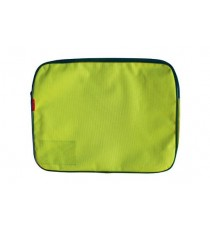 CROXLEY CANVAS GUSSET BOOK BAG EACH LIME GREEN