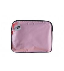 CROXLEY CANVAS GUSSET BOOK BAG EACH PINK