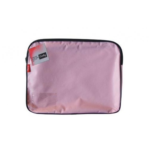 CROXLEY CANVAS GUSSET BOOK BAG EACH PINK