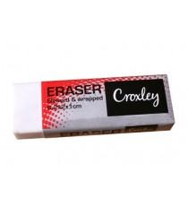 CROXLEY ERASERS 6.2CMX2CMX1CM 20PK
