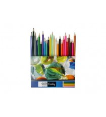 CROXLEY PENCIL CRAYONS, FULL LENGTH WALLET 24