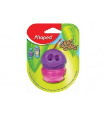 Maped Croc 2-Hole Sharpener Expandable Cannister