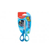 Maped Reflex Vivo 12cm Blunt-nose Scissors (Card)
