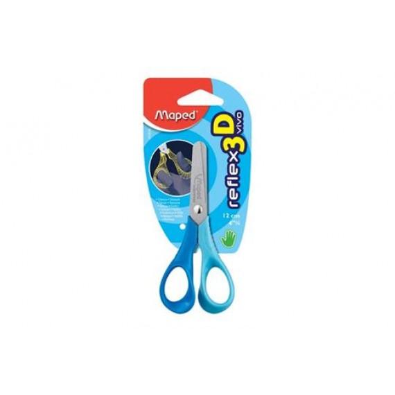 Maped Reflex Vivo 12cm Blunt-nose Scissors (Card)