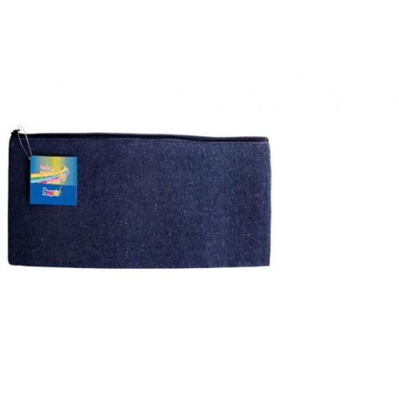 PENGUIN DENIM PENCIL CASE   22CMX11CM